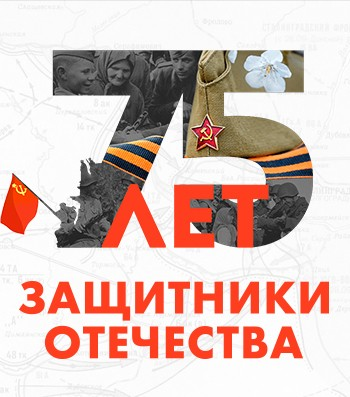 Проект «Защитники отечества» — Победа 75 лет